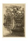 Market Square II Print by  Pfaff-Bader