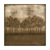 Trees at Dusk II Posters by Nancy Slocum