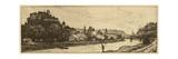 Salzburg Riverbank Prints