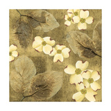 Sun-Kissed Dogwoods I Art by Nancy Slocum
