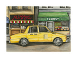 NYC Taxi 5A72 Giclee Print