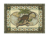 Tropical Monkey I Premium Giclee Print
