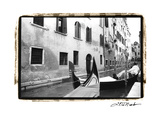 Venetian Waterway Print by Laura Denardo