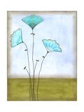 Minna's Garden I Alu-Dibond von June Vess