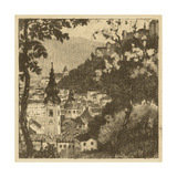 View of Salzburg I Prints