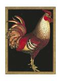 Single Rooster I Reproduction procédé giclée Premium