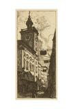 Town Hall I Art by  Pfaff-Bader