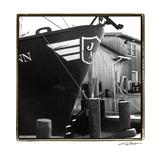 Fishing Trawler II Prints by Laura Denardo