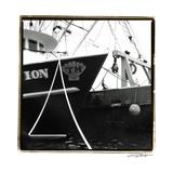 Fishing Trawler I Posters by Laura Denardo