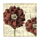 Printed Vintage Composition II Premium Giclee Print by  Vision Studio