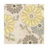 Pastel Pinwheels I Reproduction giclée Premium par Karen Deans
