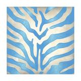 Vibrant Zebra II Kunstdrucke von Chariklia Zarris