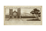 View of Eynsham Abbey Prints by Nathanial Buck