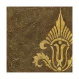 Gold Damask IV Prints