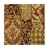 Henna Patterns on Gold II Prints by Nancy Slocum
