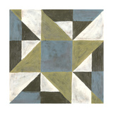 Patchwork Tile I Print by Vanna Lam