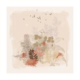 World Flora II Premium Giclee Print by Ken Hurd