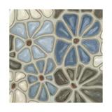 Tiled Petals I Reproduction giclée Premium par Karen Deans