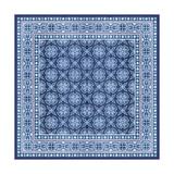 Italian Mosaic in Blue I Kunstdrucke von  Vision Studio