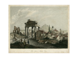The Agora- Athens, Greece Print by  Wolfensberger