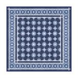 Italian Mosaic in Blue II Poster von  Vision Studio