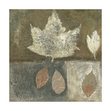 Neutral Leaves I Premium Giclee Print by Elena Ray