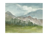 Plein Air Mountain View II Prints by Ethan Harper