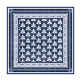 Italian Mosaic in Blue III Prints by Vision Studio