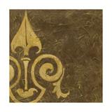 Gold Damask III Print