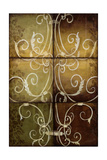 Wrought Iron and Damask Print