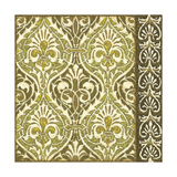 Burnished Arabesque II Prints by Nancy Slocum