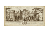 View of Roche-Abbey Print by Nathanial Buck