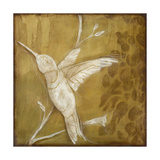 Wings and Damask II Giclee Print