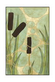 Tranquil Cattails I Poster