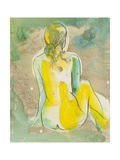 Figure in Relief I Poster by Jennifer Goldberger
