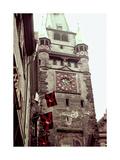 Clock Tower II Prints by Carolyn Longley