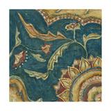 Lapis Paisley I Art by Chariklia Zarris