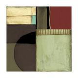 Loft Abstract II Alu-Dibond von Jennifer Goldberger