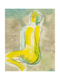 Figure in Relief II Prints by Jennifer Goldberger