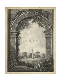 Ruines De Rome Prints
