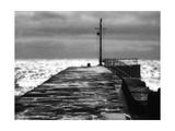 Stone Pier Premium Giclee Print by Noah Bay