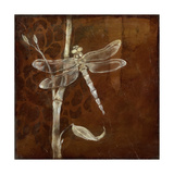 Wings and Damask VI Prints by Jennifer Goldberger