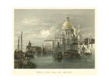 W.L. Leitch - Church of Santa Maria Della Salute - Poster