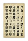 Vintage Heraldry II Print by  Chambers