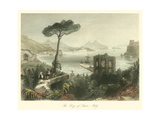 Bay of Baie, Italy Print by William Henry Bartlett