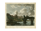 Ponte Rotto Prints by  Merigot