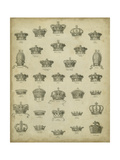 Heraldic Crowns and Coronets V Prints by  Milton
