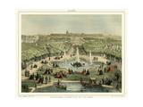 Panorama Du Chateau et Du Parc Posters