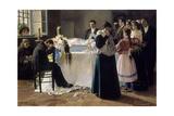 Mira Que Bonita Era-1895 Giclee Print by Julio Romero de Torres