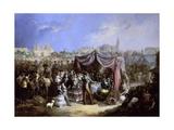 La Feria (De Sevilla), 1853 Giclee Print by Manuel Rodriguez de guzman